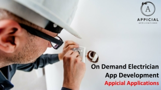 Electrician App Development