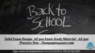 Get Microsoft AZ-500 Question And Answers ~ Secret of Success