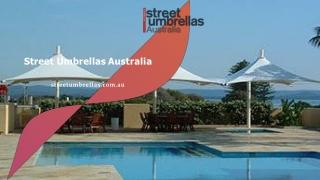 Portable Street Umbrellas For Businesses