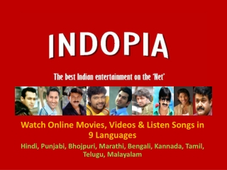 Indopia - Entertainment Portal