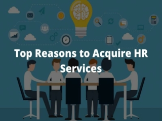 Top Reasons to Acquire HR Services