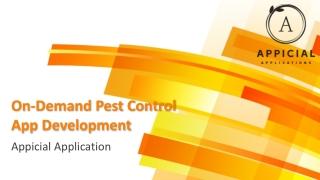 Pests Control App Development