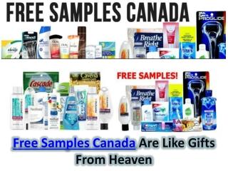 Free Samples Canada
