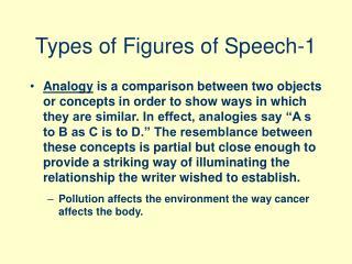 Types of Figures of Speech-1