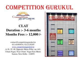 BEST CLAT COACHING CENTER IN DELHI, UTTAM NAGAR