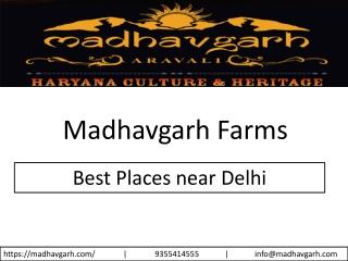 Best Places near Delhi