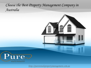 Choose the Best Property Management Company in Australia