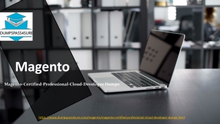 Magento 2 Developer Architect and later Exam Study Material | Magento-Certified-Professional-Cloud-Developer Dumps PD