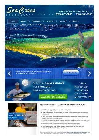 Miami Fishing Charter Boat