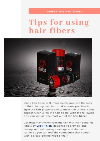 Get The Best Tips About How To Use Hair Fibers