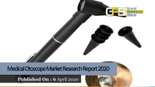 Medical Otoscope Market Research Report 2020