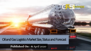 Oil and Gas Logistics Market Size, Status and Forecast
