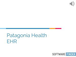Patagonia health - Software Finder