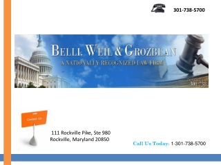 BWG Maryland Lawyers