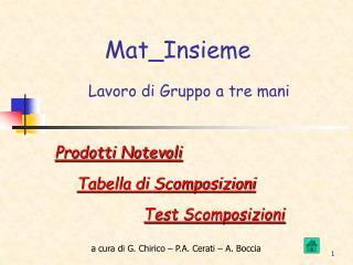 Mat_Insieme