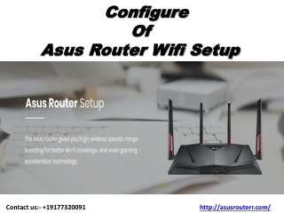 Asus Wifi Router Wifi