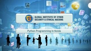 Python Programming training in Noida