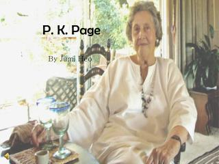 P. K. Page
