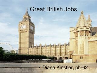 Great British Jobs