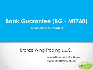 Apply Bank Guarantee – Bank Guarantee Process