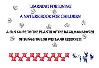 LEARNING FOR LIVING   A NATURE BOOK FOR CHILDREN