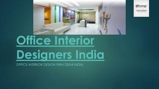 Office Interior Designers India