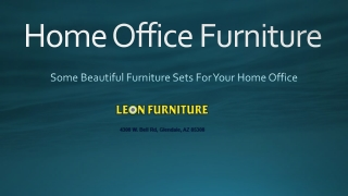 Exclusive Home Office Furniture Sets 2020
