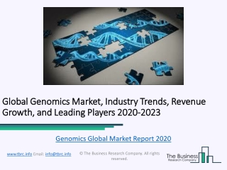Genomics Market Competitive Landscape and Regional Forecast Analysis 2023