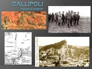 Gallipoli Google earth