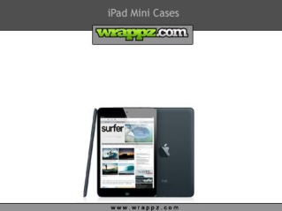 Stylish iPad Mini Cases by Wrappz.Com