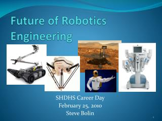 Future of Robotics Engineering