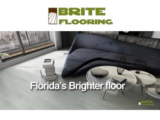 Water Resistant Floors