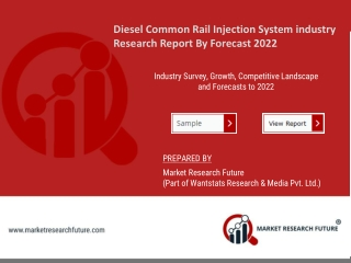 Diesel Common Rail Injection System industry