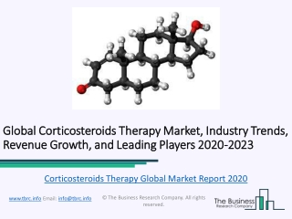 Global Corticosteroids Therapy Market Report Trends, Growth and Revenue To 2023