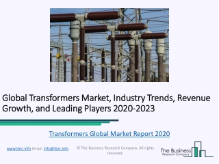 Transformers Market Competitive Landscape and Regional Forecast Analysis 2023