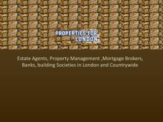 Properties for London - Estate Agents