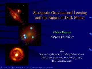 Stochastic Gravitational Lensing and the Nature of Dark Matter