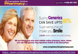 Buy HCG Injections Online-CompleteOnlinePharmacy
