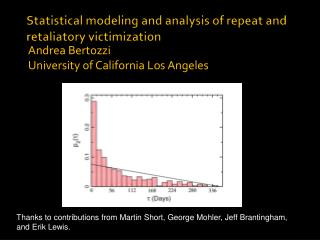 Statistical modeling and analysis of repeat and retaliatory victimization