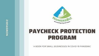 Paycheck Protection Program | NomersBiz