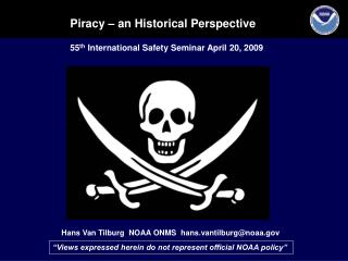 Piracy   an Historical Perspective