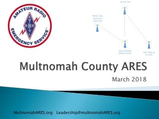 Multnomah County ARES
