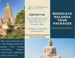 Bodhgaya Nalanda Tour Packages