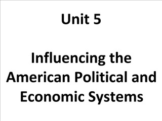 Unit 5  Influencing the American Political and Economic Systems