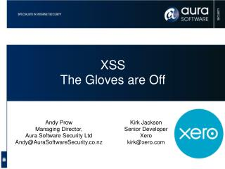 XSS The Gloves are Off