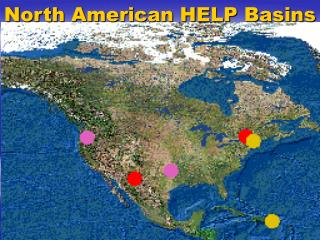 North American HELP Basins