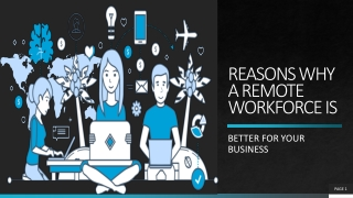Significant Benefits of a Remote Workforce