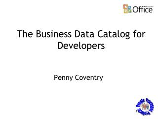 The Business Data Catalog for Developers