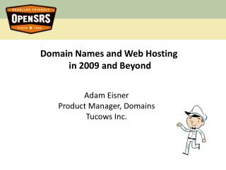 Domain Names and Web Hosting  in 2009 and Beyond