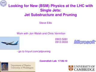 Looking for New (BSM) Physics at  the  LHC with Single Jets:  Jet Substructure and  Pruning